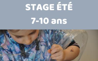 """Stage """"Fun'Ceram"""" pour les 7-10 ans"""